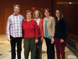 NWF with Ian Clarke, February 2014 Masterclass at Drew University