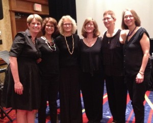 NWF after performing with Robert Dick at the NFA Convention in Washington, DC, August 2015